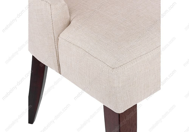 Стул Elegance dark walnut / fabric cream. Фото 8